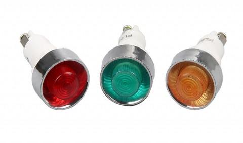 Đèn báo PL 13.5mm 220V/24V/12V