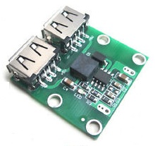DC-DC 2 USB STEP-DOWN 3A