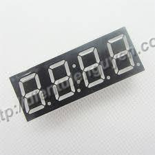 """LED 7 đoạn 0.56"""" 4 - A chung (Led đồng hồ)"""