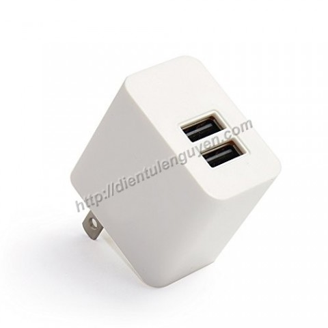 Đầu sạc USB 2 cổng 5V2A