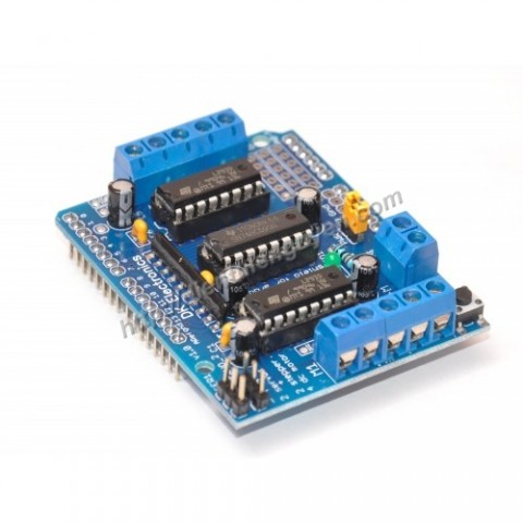 Module board Control Motor L293D.