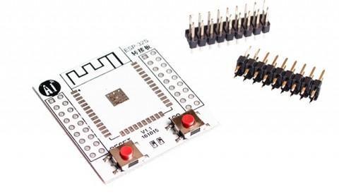Đế Ra Chân Mạch Mạch Thu Phát Wifi BLE SoC ESP32 V1