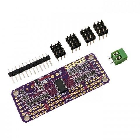 Module  Điều Khiển 16 Servo PCA9685 ( xuất xung PWM / giao tiếp I2C )