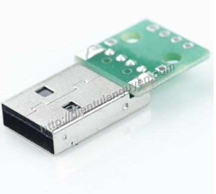 Module Chuyển USB A Đực
