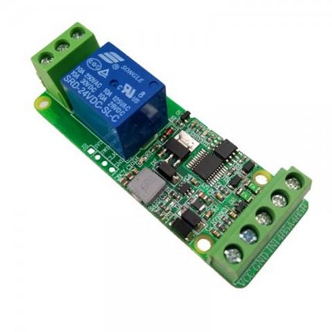 Module Relay 1 Kênh Giao Tiếp Điều Khiển Uart TTL Và RS485, Giao Thức Modbus-RTU