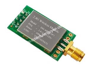 Module thu phát RF NRF24L01P 2.4Ghz Power 100mW