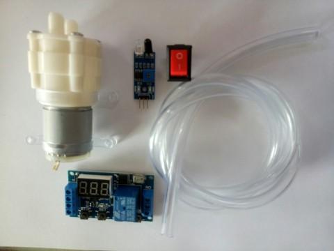 Combo tự làm máy rửa tay tự động ( 4)