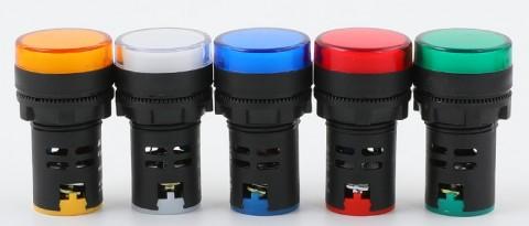 Đèn báo 12V AD16-22D/S LED
