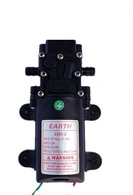 Máy bơm nước mini áp lực 12V 36W 4L