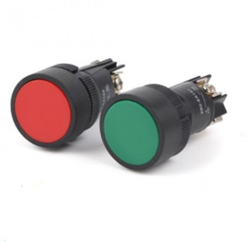 Nút nhấn 2 chân NO XB2-EA121 / XB2-EA141