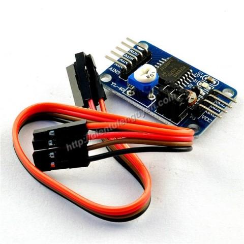 Module AD/DA 8 bit PCF8591