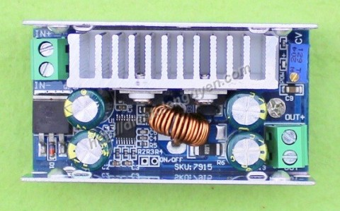 Module Buck DC-DC 15A 200W In 8-60V / Out 1V-36V