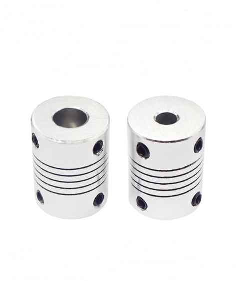 Khớp nối trục mềm hợp kim nhôm 5*5mm/5*8mm