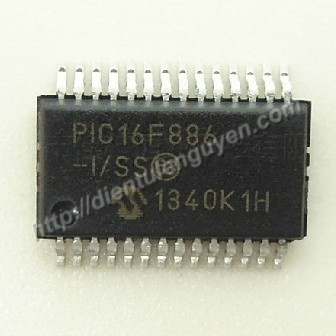 PIC16F886 - Smd