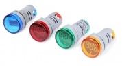 Volt kế điện tử AC60-500V ( tròn)