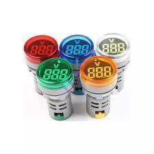 Đèn báo Volt 220VAC phi 22mm