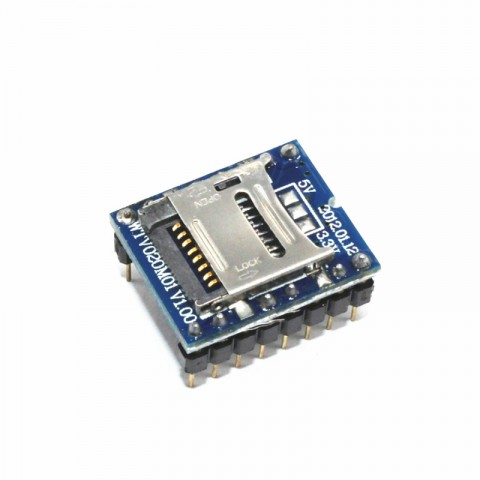 Module Micro SD audio WTV020 - 380760