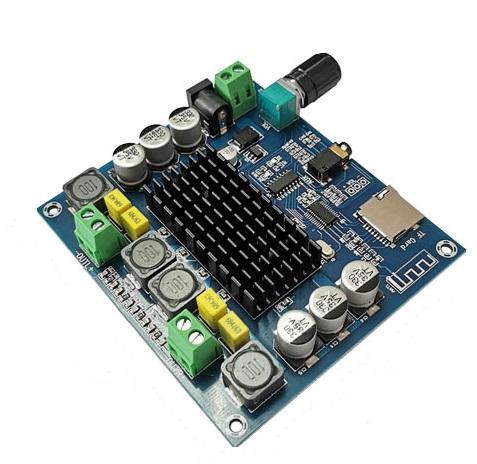 Module khuếch đại âm thanh TPA3116 2*100W Bluetooth 5.0 Thẻ TF XH-A314