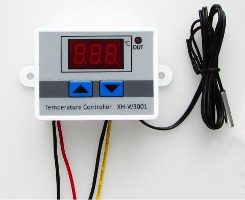 Mạch đóng mở thiết bị điện theo nhiệt độ cài đặt XH-W3001 (220VAC)