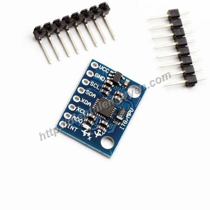 Module MPU-6050 Cảm biến gia tốc- góc nghiêng