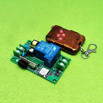Mạch điều khiển 1 kênh 30A qua internet +remote