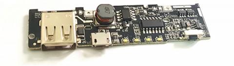 Mạch Sạc Pin Dự Phòng 1 Cổng USB 2A