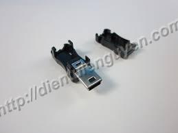 Mini USB-5P (có vỏ)