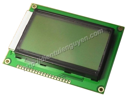 LCD Graphic 128x64 ( Blue & Green)
