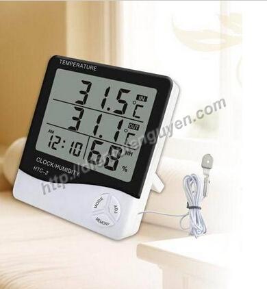 Nhiệt kế, ẩm kế HTC-2